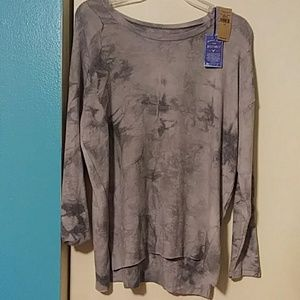 American Eagle Soft & Sexy Tie Dyed Sweater